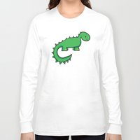 dinosaur Long Sleeve T-shirts featuring Dinosaur by Chloe Meister