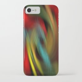 rolling colours iPhone Case
