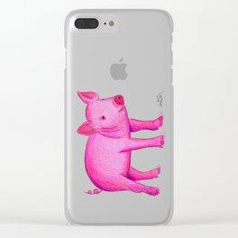 Piggie Clear iPhone Case