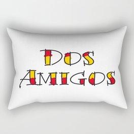 Dos Amigos Rectangular Pillow