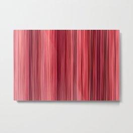 Ambient #33 - original modern stripped pattern Metal Print