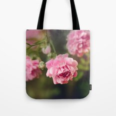 Pink Drift Tote Bag