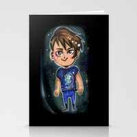 danisnotonfire Stationery Cards featuring Danisnotonfire chibi print by Hollyistotallycool