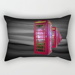 Space Beaming Boxes Rectangular Pillow