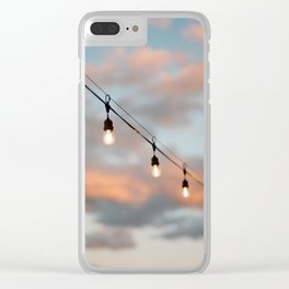 Lake Tahoe Sunset Clear iPhone Case