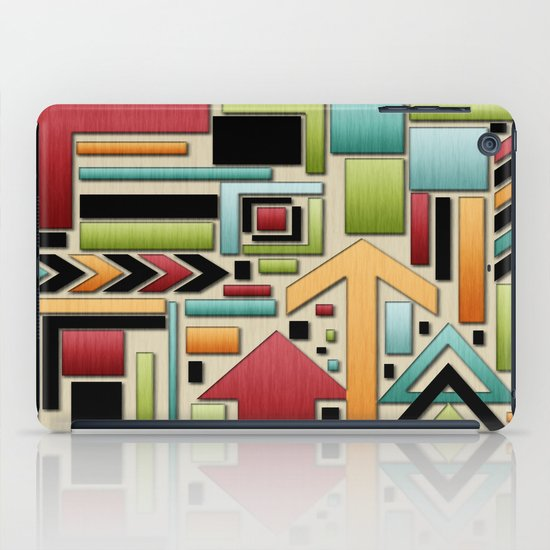 Retro Junk. iPad Case