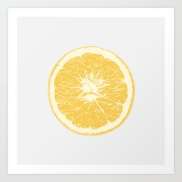Orange - Citrus Art Print