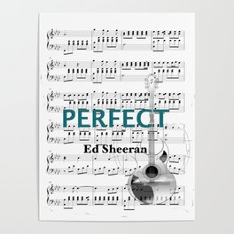 Perfect- Pop music Poster