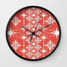 Red Lilo Wall Clock