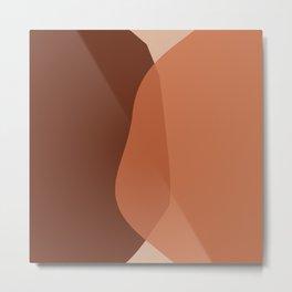 Loved Shapes #illustration #digitalart Metal Print