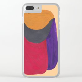 15   190330 Abstract Shapes Painting Clear iPhone Case