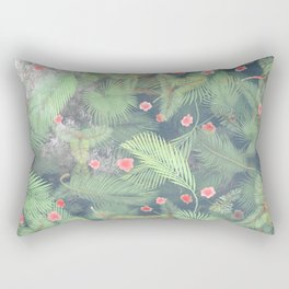 Fresh Summer Forest Rectangular Pillow