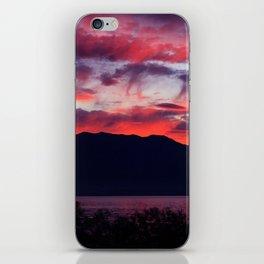 Sunrise at Utah Lake iPhone Skin