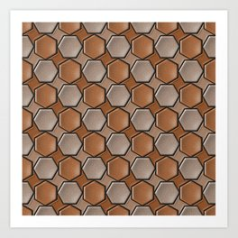 Geometrix 147 Art Print