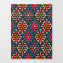 Geometric Aztec ornament Canvas Print