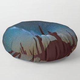 Milky Way Cacti Floor Pillow