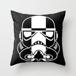 Skunk Trooper Throw Pillow