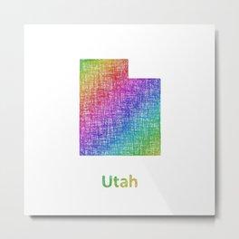 Utah Metal Print