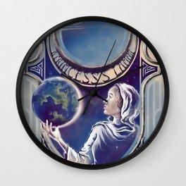 A Princess's Lament Wall Clock
