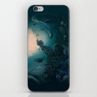 underwater iPhone & iPod Skins featuring Underwater by Tanya_tk