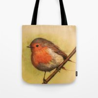 birdy Tote Bags featuring Birdy by ioanazdralea