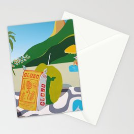 GLOBO COOKIES IN RIO Stationery Cards