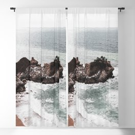 Wild Beach 2 Blackout Curtain