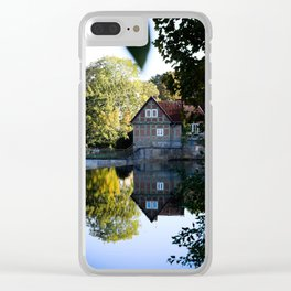 Former lock keeper's house Clear iPhone Case