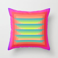 Gradient Fades v.4 Throw Pillow