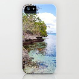 Lifou Coral View iPhone Case