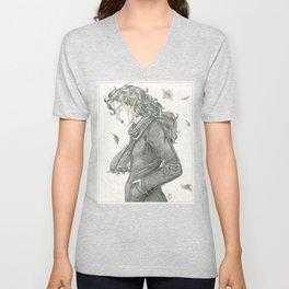 Autumn Dryad Unisex V-Neck