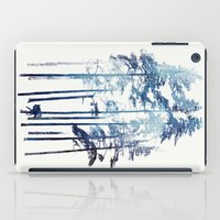 wolf iPad Cases featuring Winter Wolf by Robert Farkas