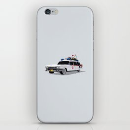 Ghostbusters Illustrated Ecto 1 iPhone Skin