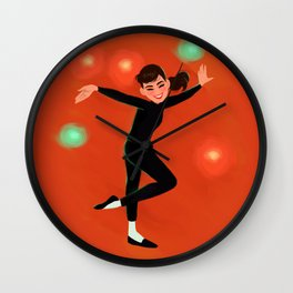 Audrey Hepburn - Funny Face Wall Clock