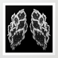lungs Art Prints featuring Lungs by Sushibird