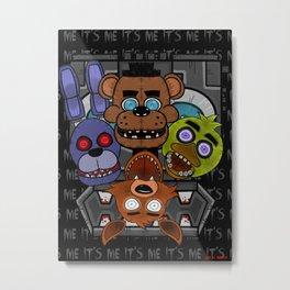 Five Nights at Freddy's Metal Print