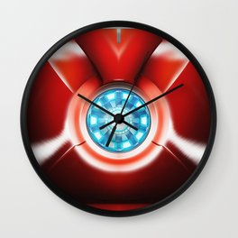 Ironman Body Armor Wall Clock