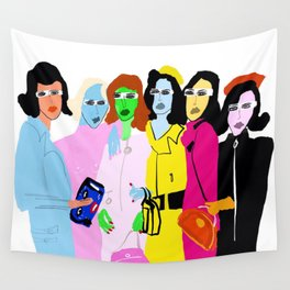 Fashion Week Wall Tapestry