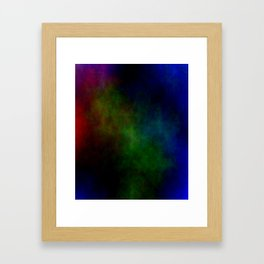 Tinted Clouds Framed Art Print