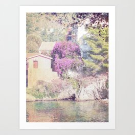 travel collection. Greece. Kefalonia Art Print