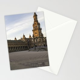 The Plaza de España; Spain Square Seville  Stationery Cards