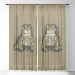 Tough Toad - Camouflage Sheer Curtain
