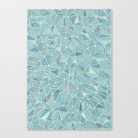 Pastel Diamond Canvas Print