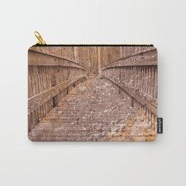 Acrylic Sepia Bridge Carry-All Pouch