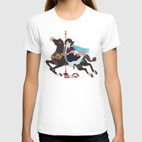 dark side of the moon T-shirts featuring Carousel: The Dark Side of the Moon by Lettie Bug