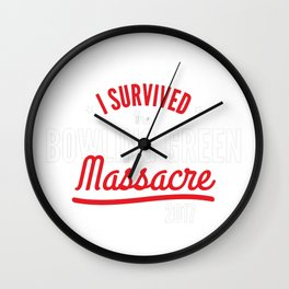 I survived the Bowling Green Wall Clock