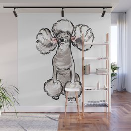 Stay Fabulous, Poodle! Wall Mural
