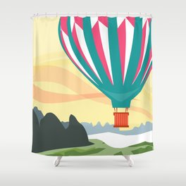 Globo Shower Curtain