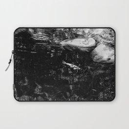 Reflecting Pond (Black & White) Laptop Sleeve