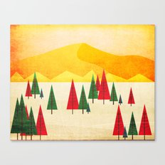 a valley Canvas Print